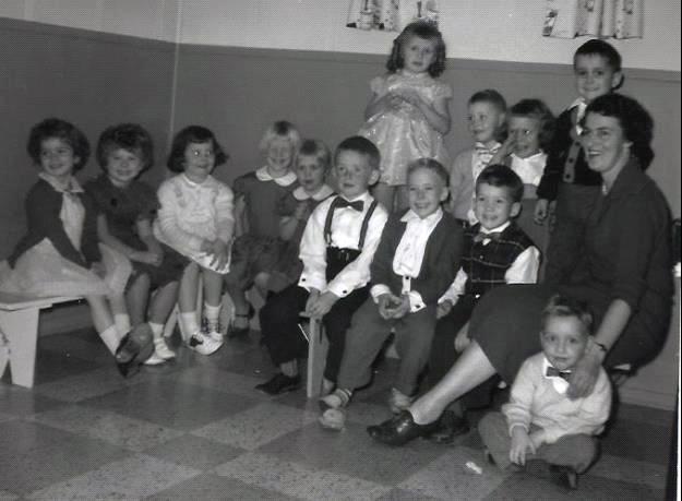 Kindergarten 1958 - 1959