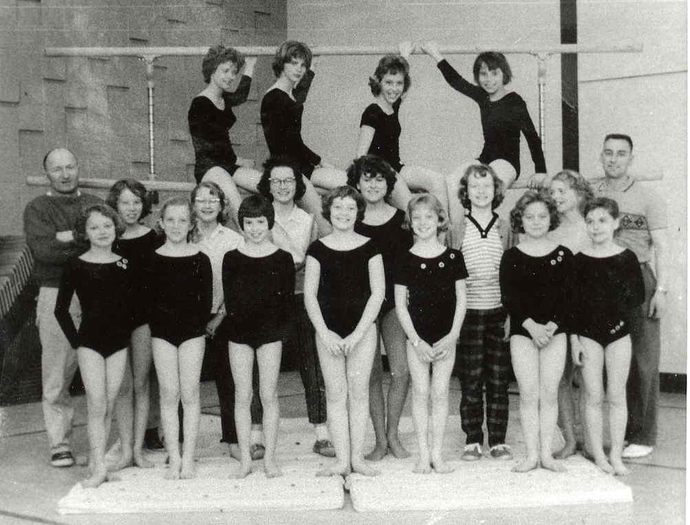 Montgomery Gymnastics Club c1960