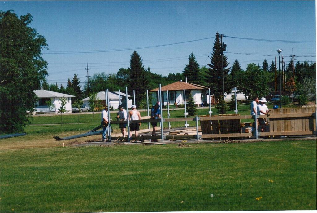 Rink building June 1995-3