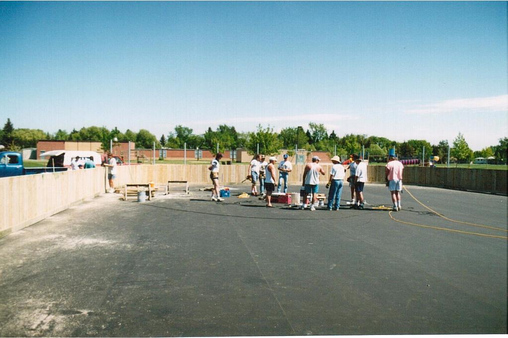 Rink building June 1995-7