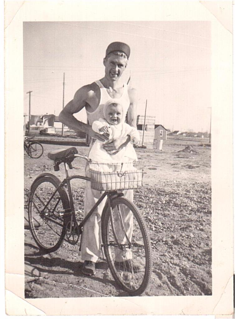 Bernie Newman son Greg Saskatoon-1948