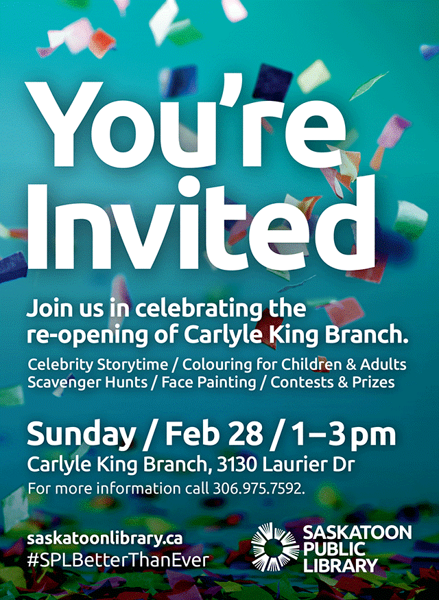 Carlyle King Library Re-Opening