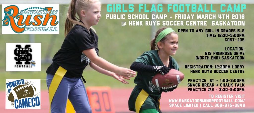 Girls Flag Football Camp (Public School)