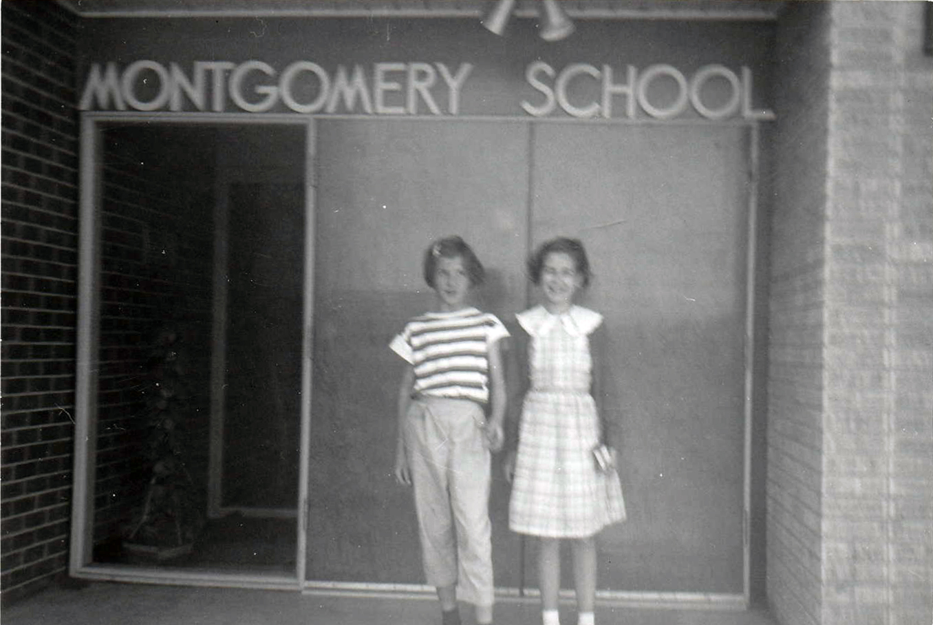 1958 Montgomery school chums 1