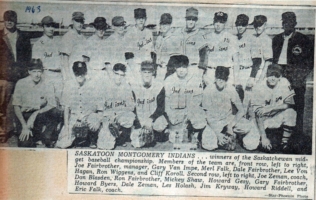 1963-Indians-Saskatchewan-Midget-Champs