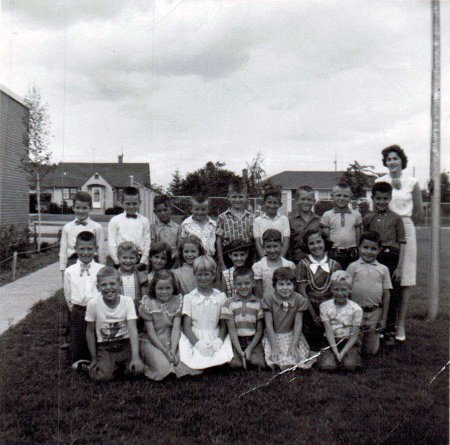 1963 Mrs. Tidsbury's grade three class