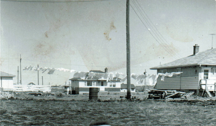 Around 1957 Looking north from Ortona St