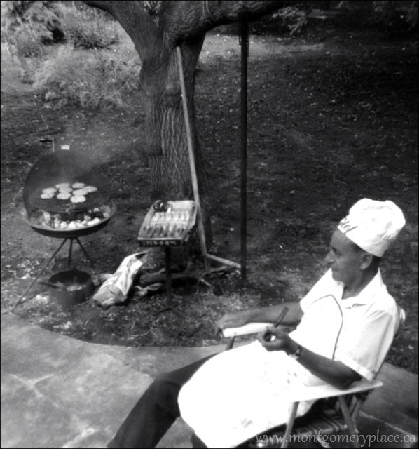 Carl-Sedgwick-Father's-Day-cook-out--c.1955