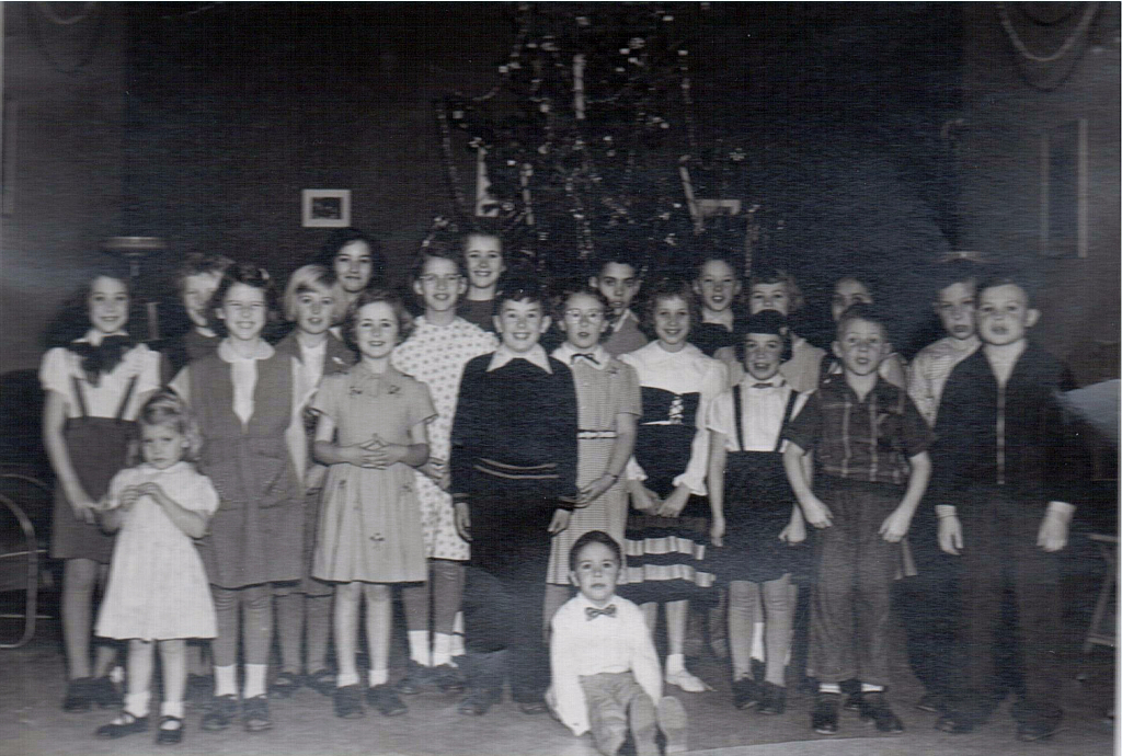 Christmas Party - Olympic Packers c1954
