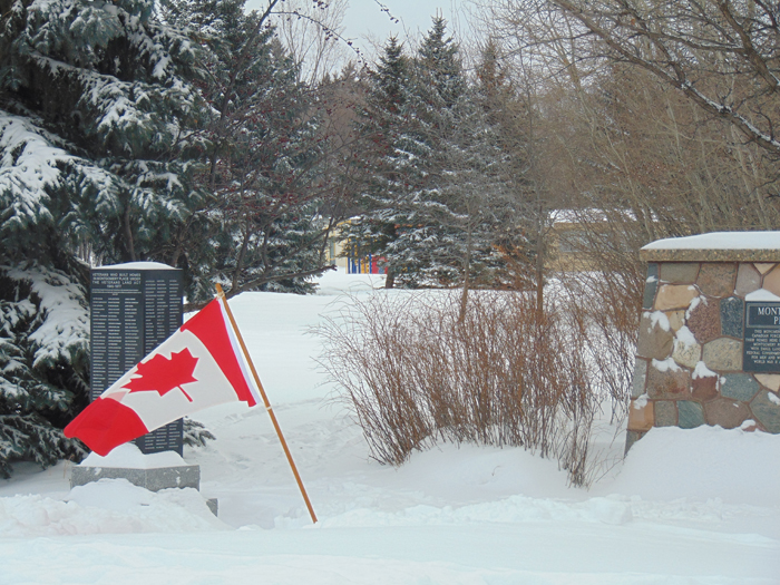 Montgomery Place honours the 50th Anniverary of the Canadian Flag – February 15, 2015
