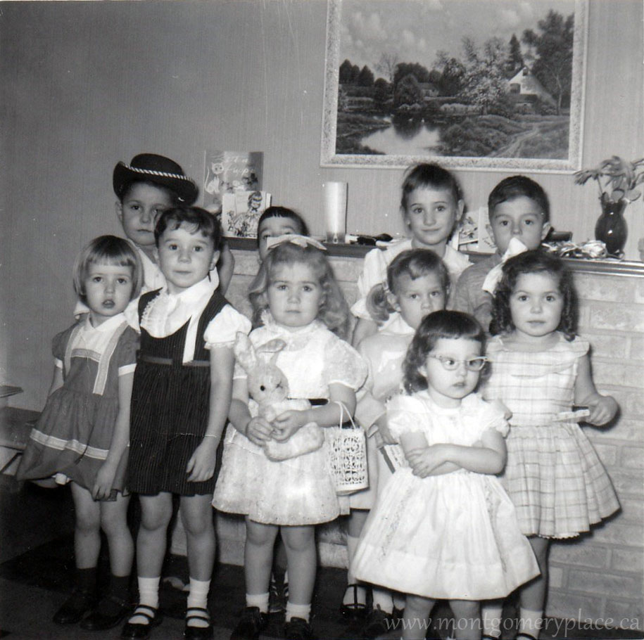 Genereux-Janie's-4th-Birthday-1960