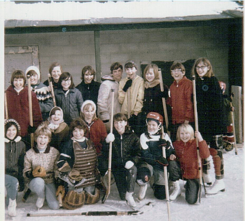 Girls Hockey Montgomery Place 1969-1970