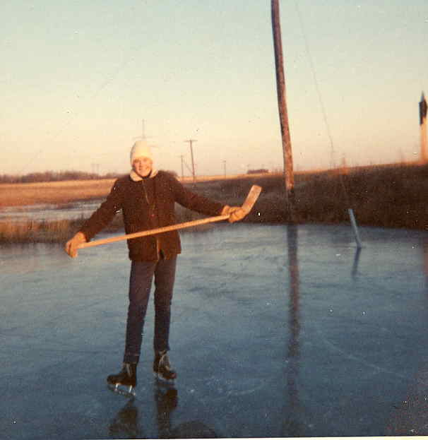 Larry Newman Gevelot slough south of Montgomery c1966