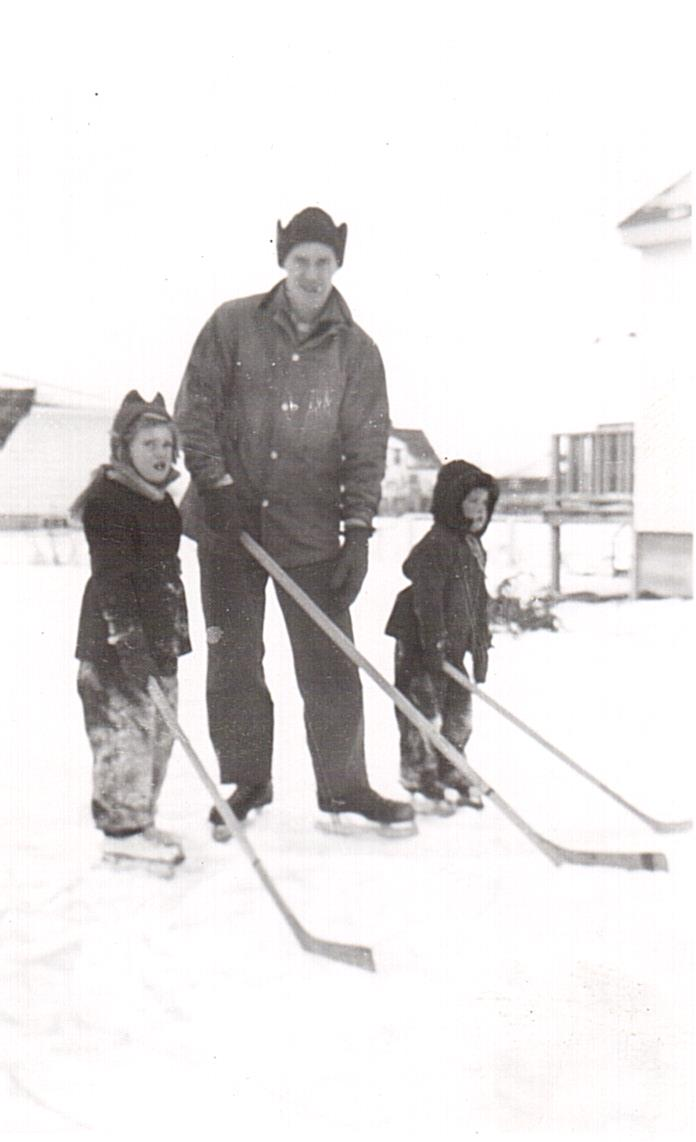 Montgomery Backyard Rink 1954