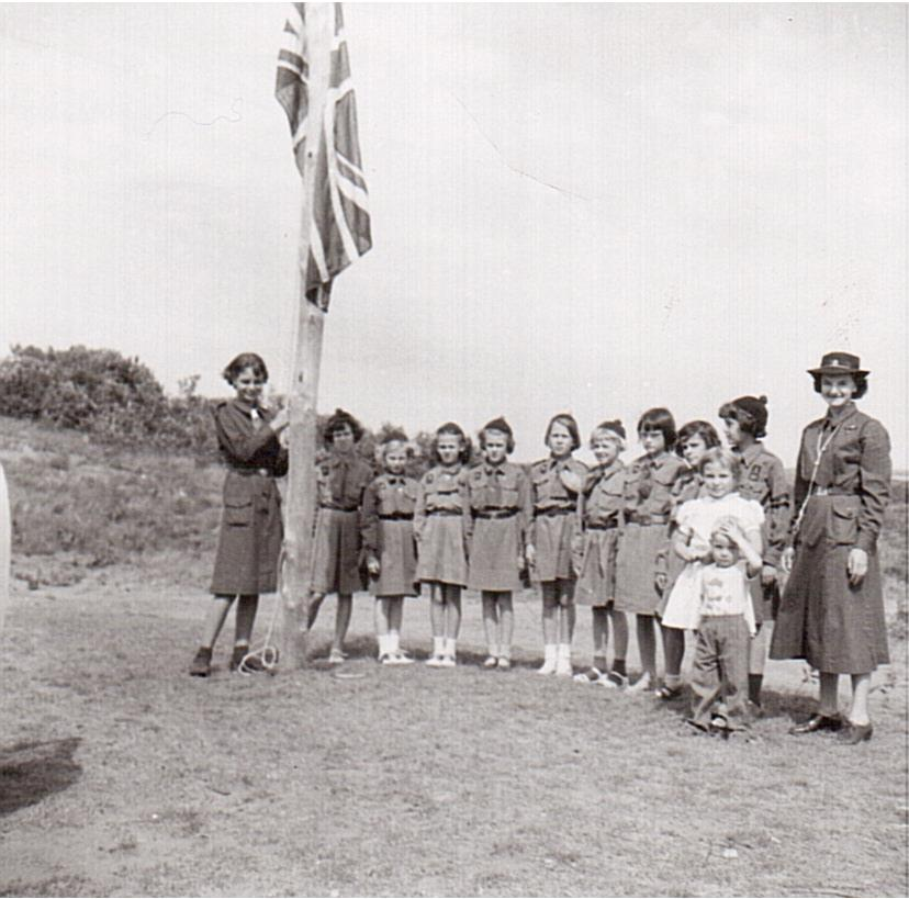 Montgomery- Brownie Camp at Pike Lake 1957