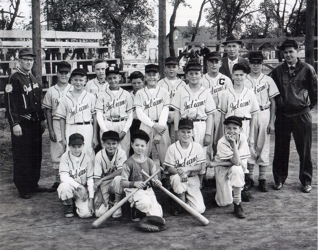 Montgomery Indians baseball team 1963 or so