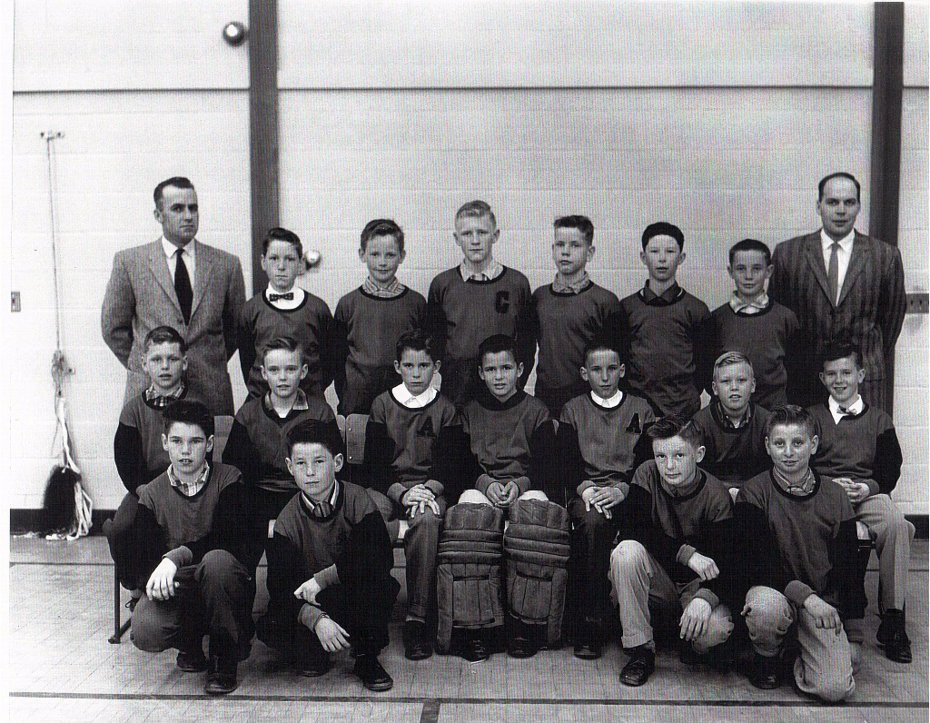 Montgomery hockey team-12 yr olds 1960