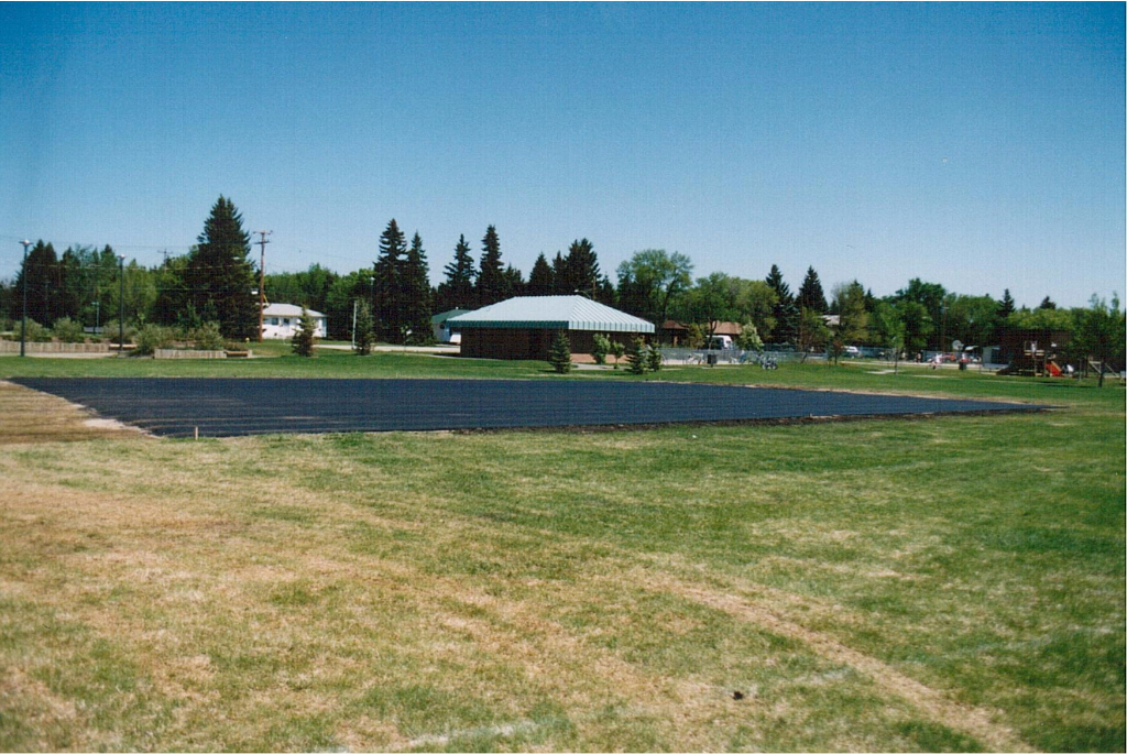 Rink building June 1995-1