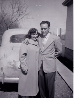 Carl and Reta Sedgwick  1103 Lancaster Blvd - c.1946