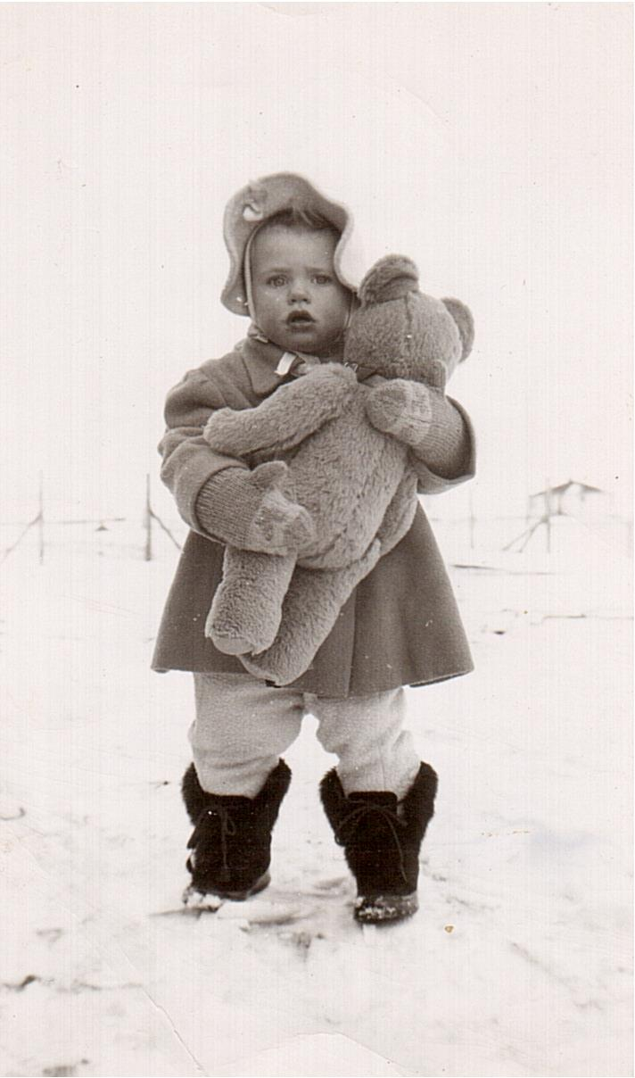 Montgomery- Lucille with teddy 1949