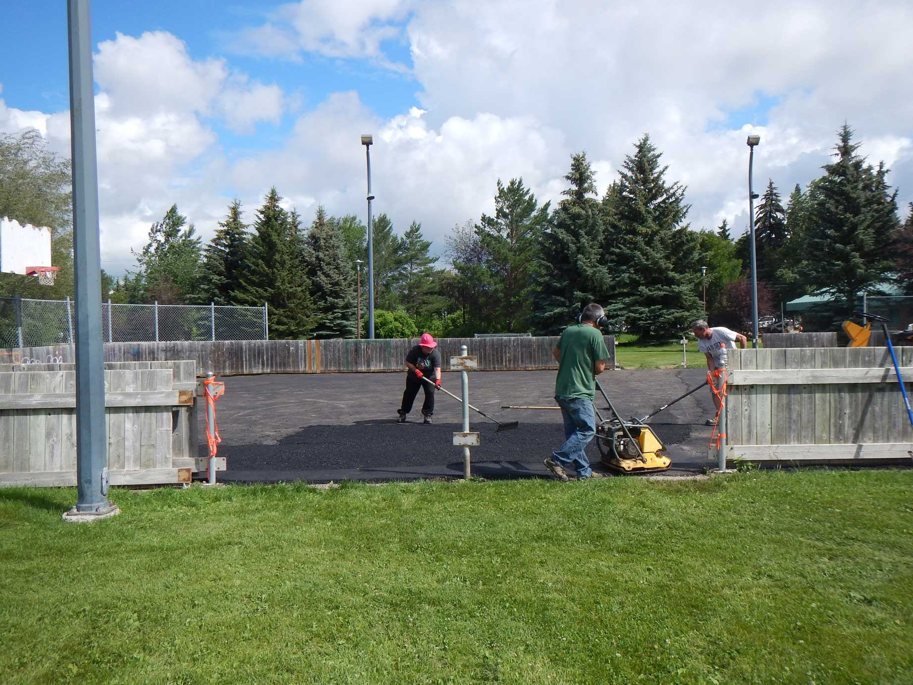 Rink Refurbishment – Summer 2016