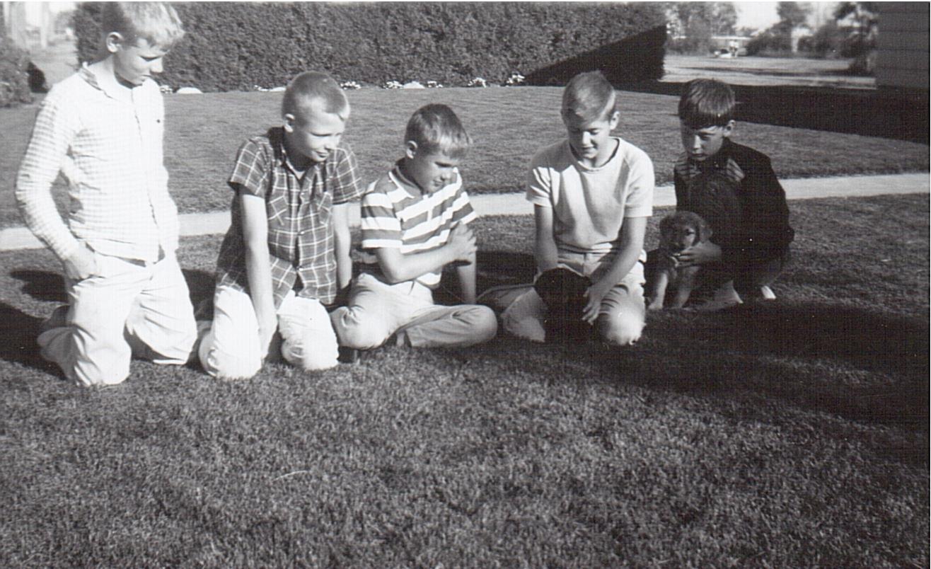 Newman Family -3303 Caen St -1965