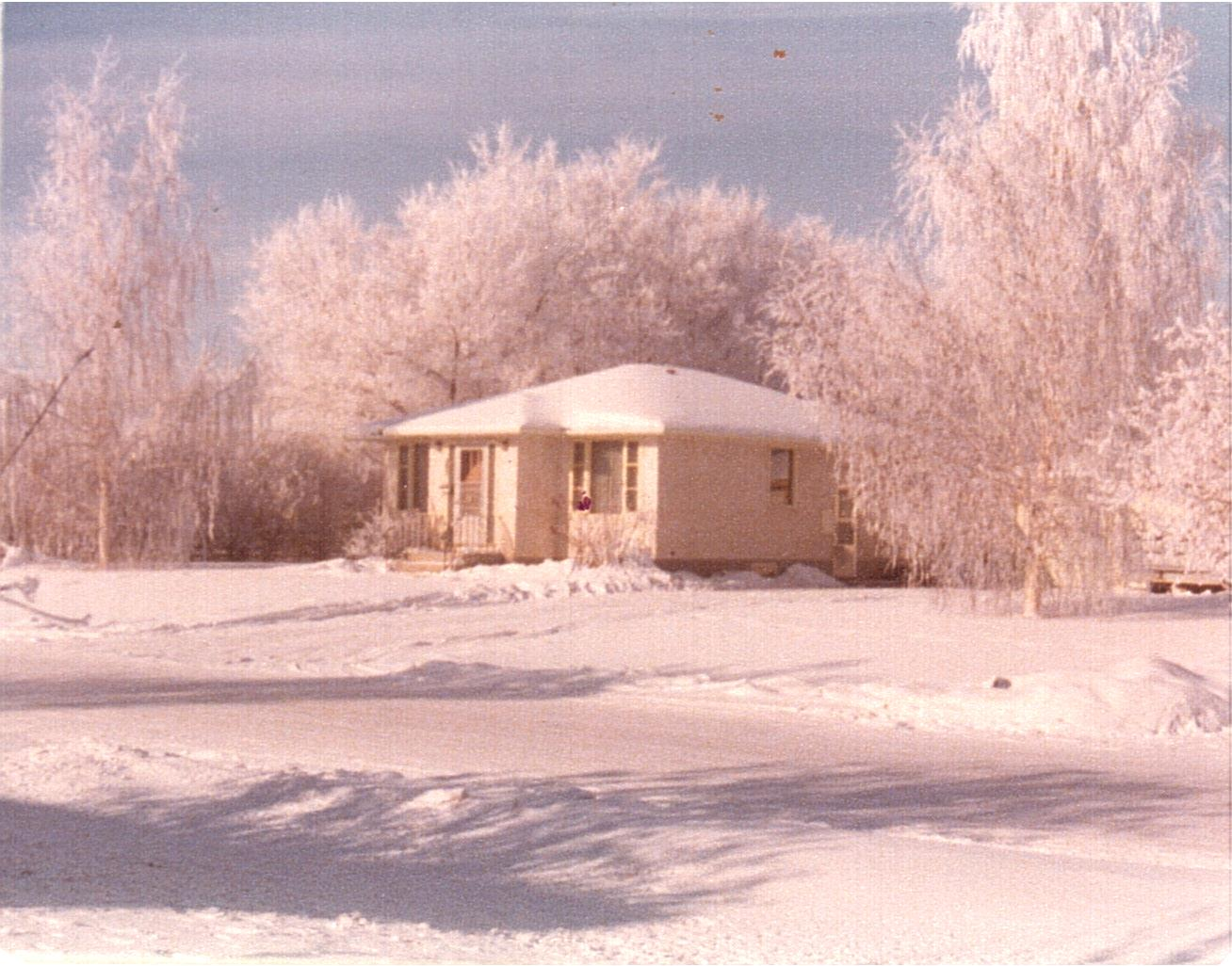 Vassie-Winter frost at 3144 Dieppe St c1970